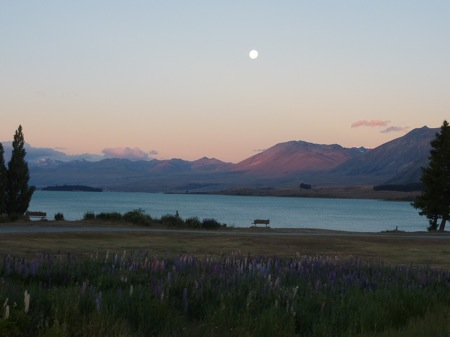 Lake Tekapo, sunset